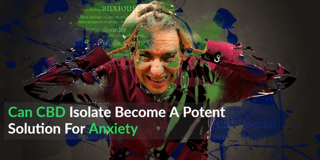 CBD Isolate For Anxiety | Can CBD Isolate Become A Potent Solution